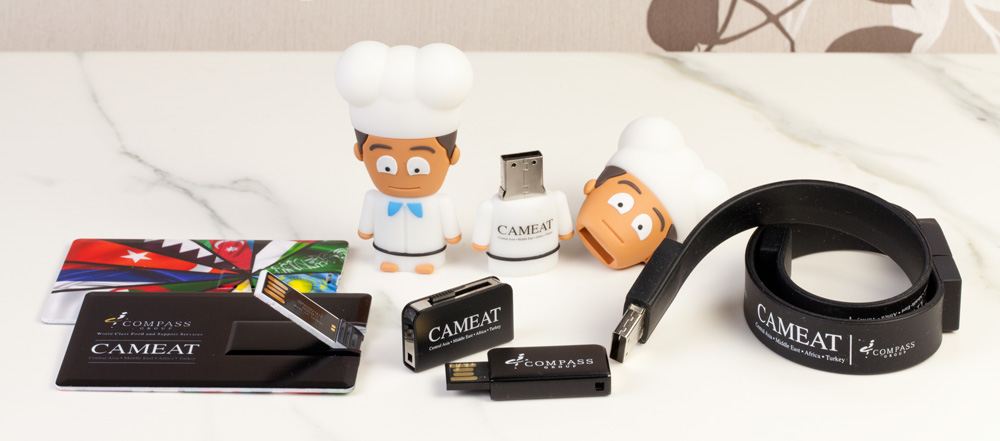 Promotional USB Memory Sticks - Spoilt for Choice