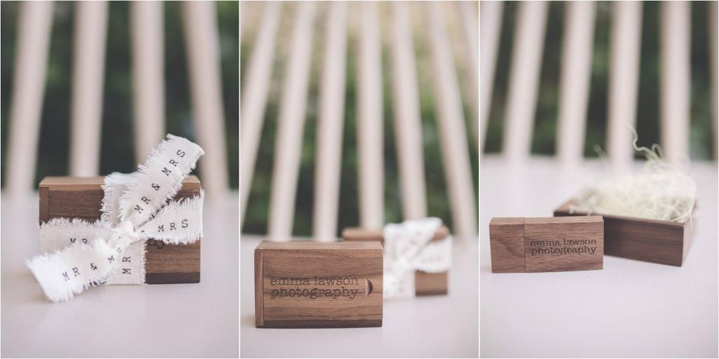 Emma Lawson Photography USB Sticks and Boxes