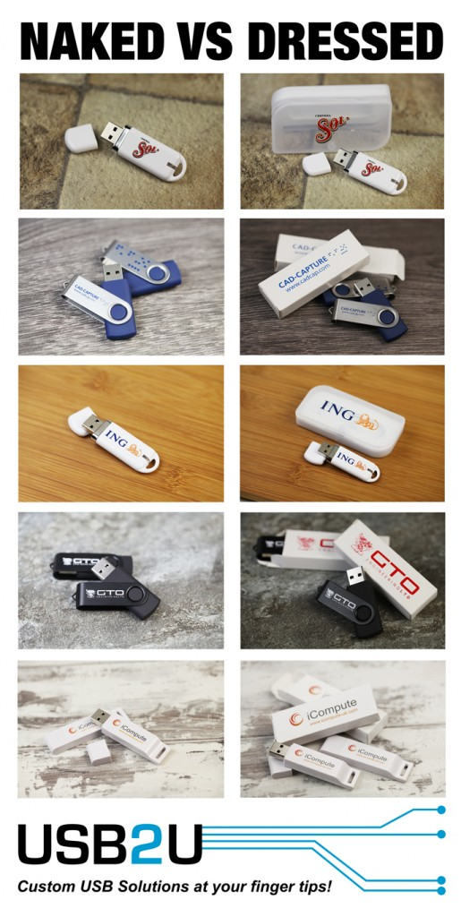 Promotional USB Flash Drive Gift Boxes