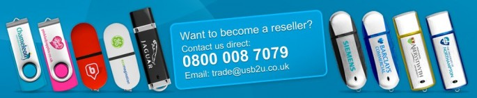 USB2U European Resellers Wanted