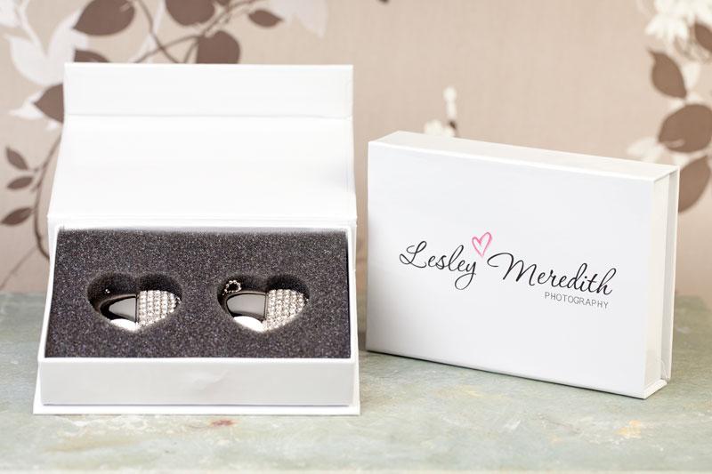 USB Hearts in Gift Box