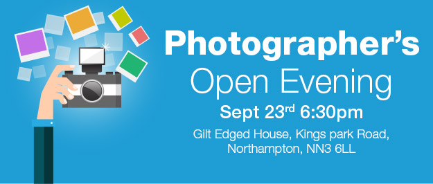 USB2U Photographers Open Evening, Weds 23rd Sept 2015