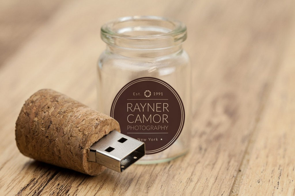 USB Memory Stick Bottles