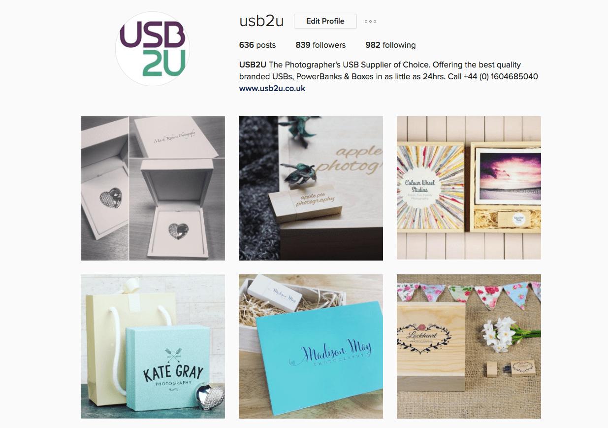 USB2U Instagram Page
