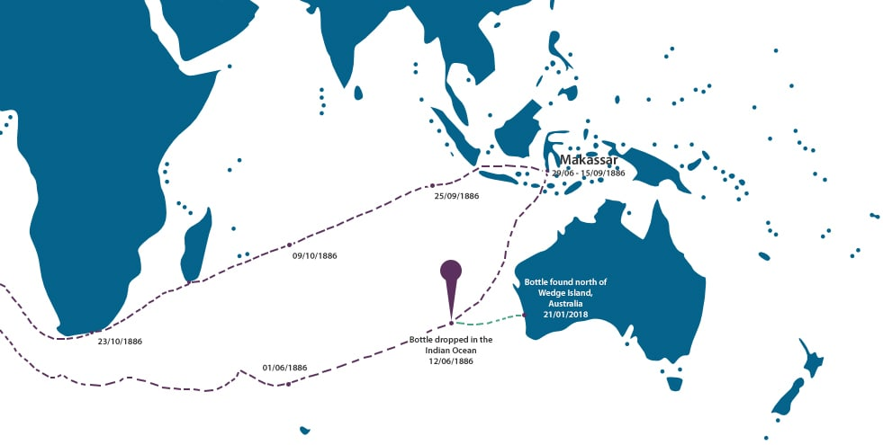 Paula Ship Route Map