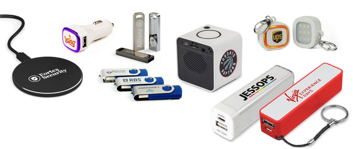 Promotional Tech Merchandise from USB2U