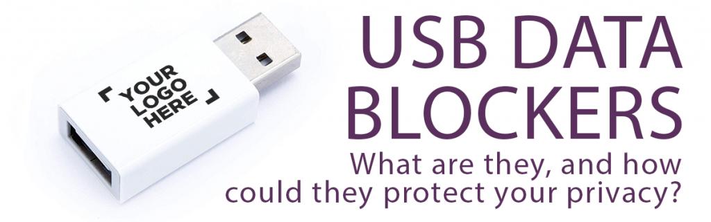 USB data blockers header