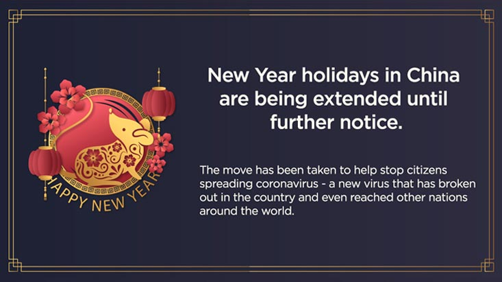 Chinese new year extension