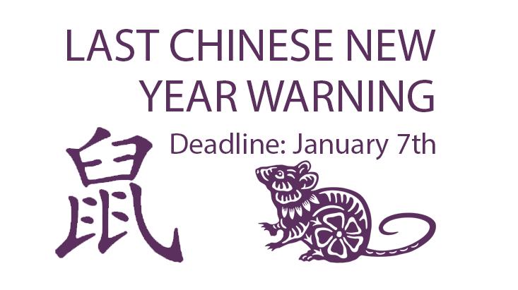 Chinese new year warning