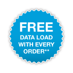 FREE Data Load With Every Order**