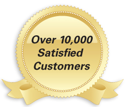 Over 5000 Satisfied Customers