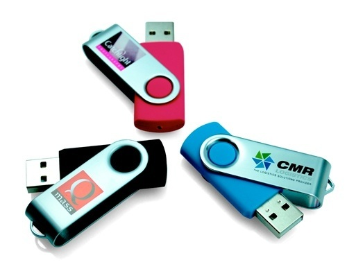 USB2U Flash Drives - Twisters
