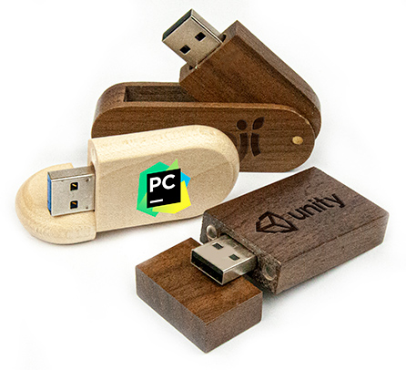 Wooden USB Sticks