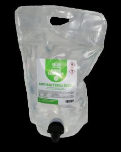 Hand Sanitiser Liquid Refill Pouch - 2.8 Litres