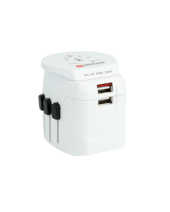 SKROSS® Pro Light USB World Travel Adapter