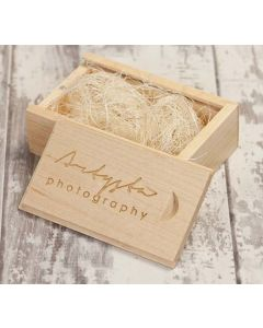 Photography Wooden Slide Box
