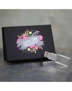 Crystal USB & Black Flip Box Bundle