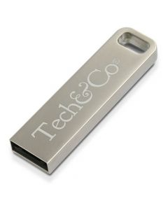 metal iron stick usb branded