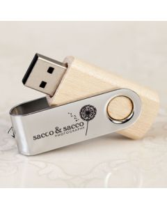 Wooden Twister USB 3.0