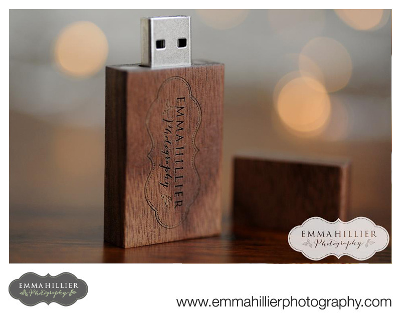 Emma Hillier Photography branded USB