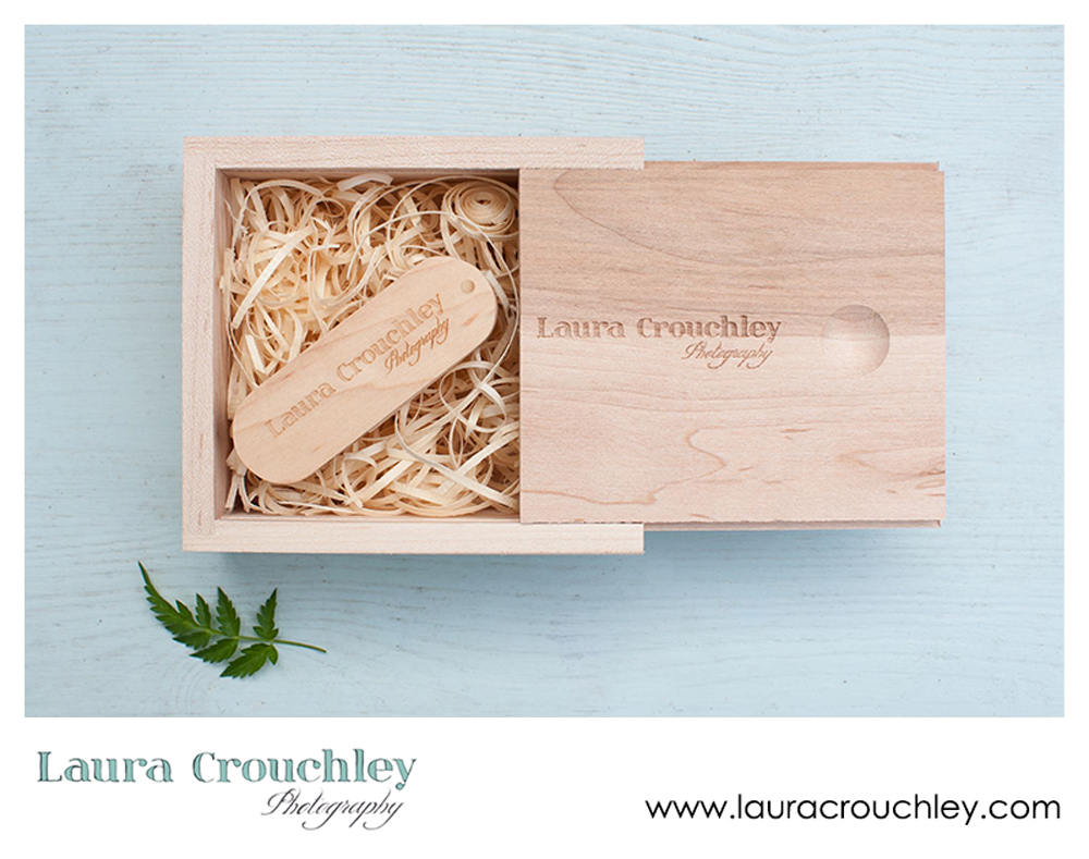 Laura Crouchley Photography USB packaging