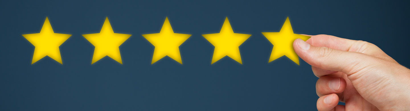 We have over 5300 5-star reviews