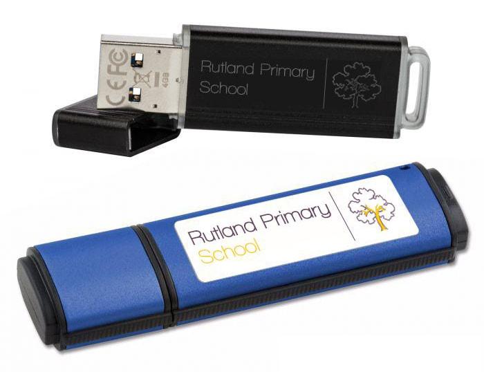 Encrypted USB Branding