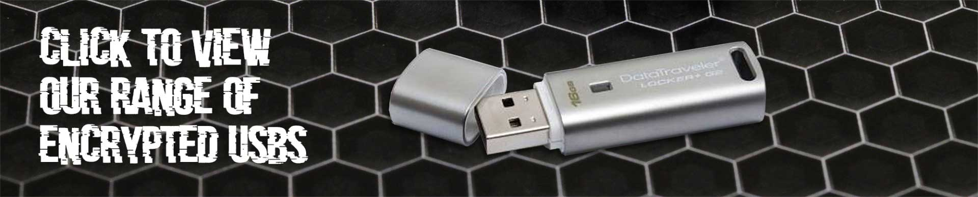 Click for encrypted usb range
