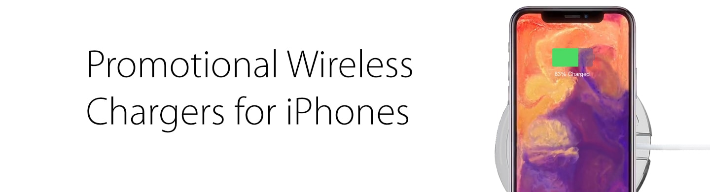 Promotional Wireless Chargers for iPhones
