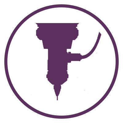 laser engraving icon