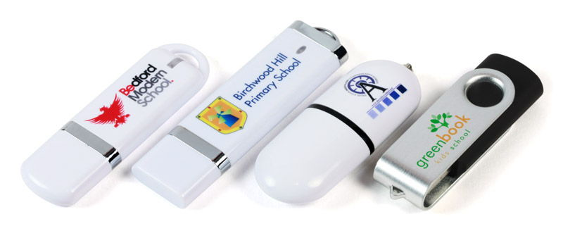 branded USB sticks for schools