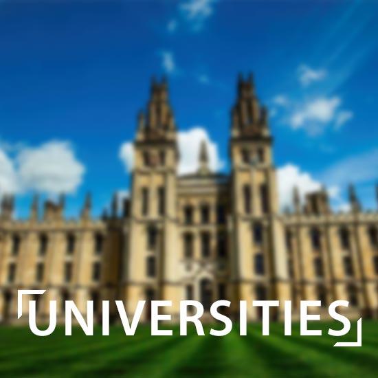 universities button