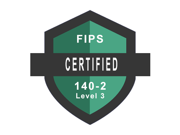 FIPS 140-2 Level 3 Certified