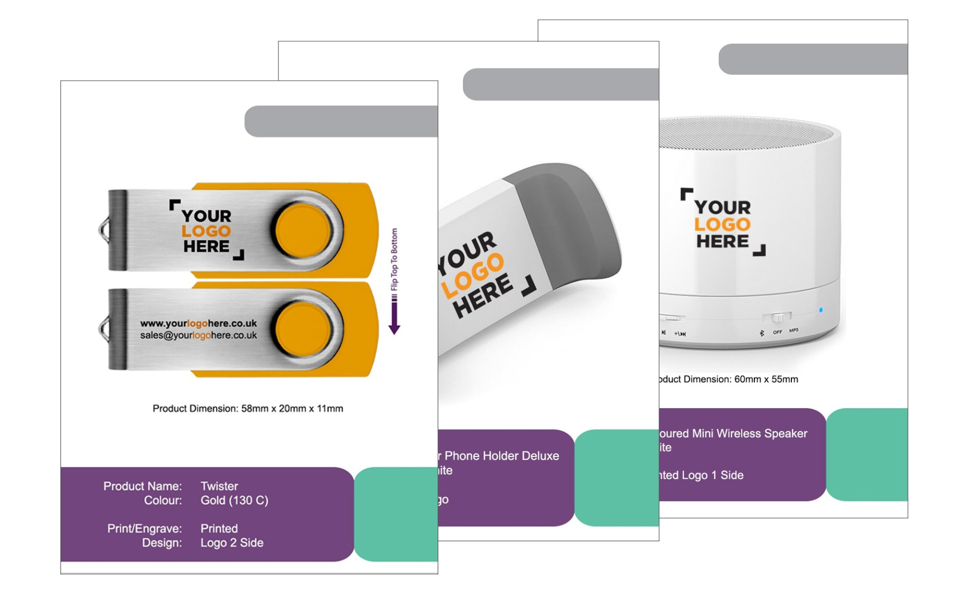 USB2U Visual Mock-Ups